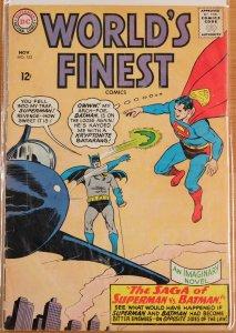 World's Finest 153 (1965) GdVg 3.0 - Batman Slaps Robin