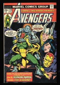 Avengers #135 VF 8.0 Marvel Comics Thor Captain America Ultron!