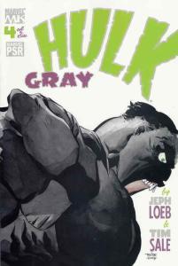 Hulk: Gray #4 VF/NM; Marvel | save on shipping - details inside