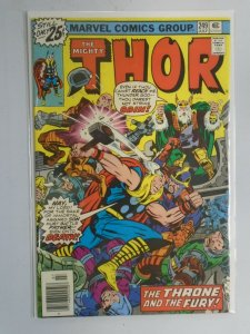 Thor #249 Newsstand edition 6.0 FN (1976 1st Series)