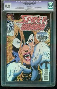 SPIDER-WOMAN V.2 #1-MARVEL-HIGHEST CGC GRADED 9.8-1993-  0939369007
