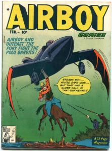 Airboy Comics Vol 8 # 1 1951- The Heap- Golden Age- EGYPTIAN COLLECTION VF