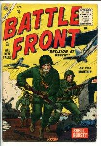BATTLE FRONT #30 DON HECK ART WW I KOREA WW II ATLAS FR/G