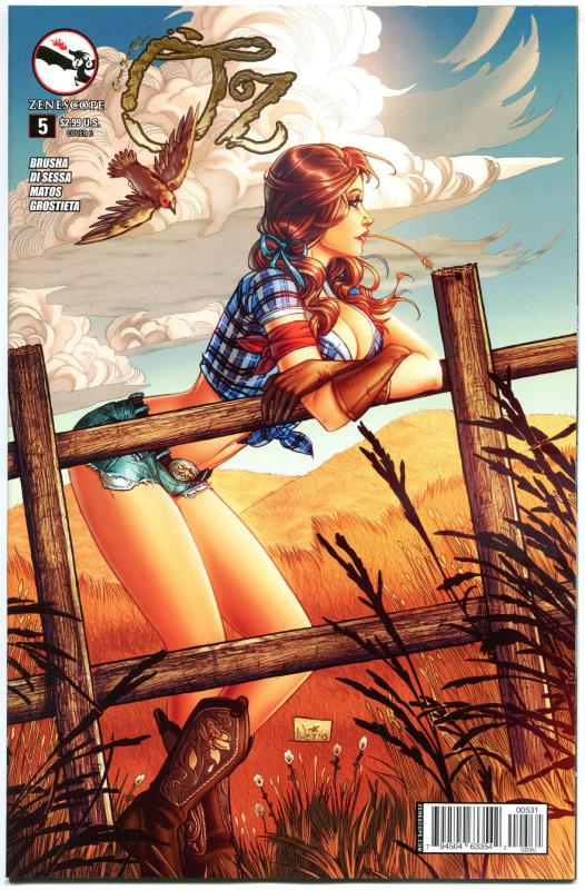 GRIMM FAIRY TALES presents OZ #5 C, NM, Dorothy, 2013, more GFT in our store