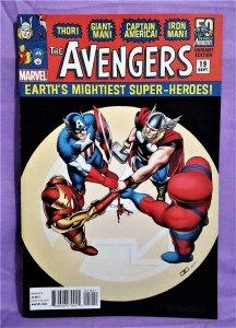 Infinity Tie-In AVENGERS #19 John Cassaday 1960's Variant Cover (Marvel, 2013)!