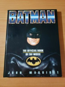 Batman The Official Book of the Movie by John Marriott ~ HARDCOVER BRAND NEW NM