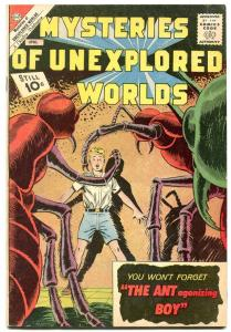 Mysteries Of Unexplored Worlds #29 1962- Ant Boy- Charlton FN+