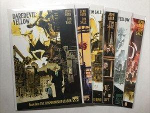 Daredevil Yellow 1-6 1 2 3 4 5 6 Lot Set Run Nm Near Mint Marvel Comics