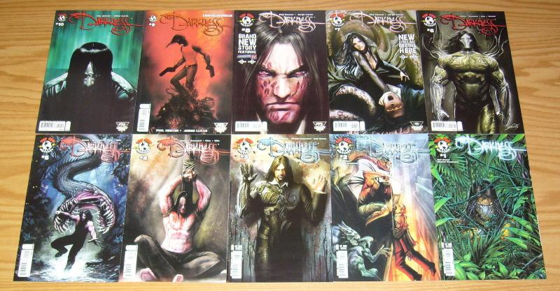 the Darkness vol. 3 #1-10 VF/NM complete series - all B variants - phil hester