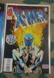 X MEN # 40  1995 Marvel LEGION QUEST PT 2 XAVIER  MAGNETO WOLVERINE SABERTOOTH