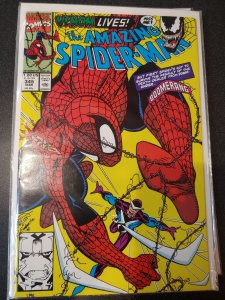 The Amazing Spider-Man #345 Cletus Kasady Carnage Comic