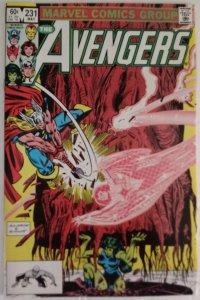 AVENGERS #231 Marvel Comics ID#MBX2