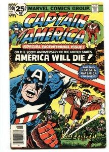 Captain America #200 1976- Falcon- Marvel Bronze Age-Jack Kirby-VF