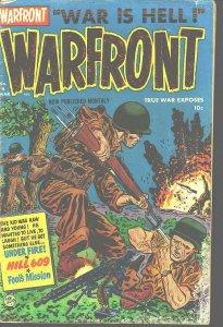 WARFRONT #4 BOB POWELL VIOLENT ART & STORIES 1952 KOREA G/VG