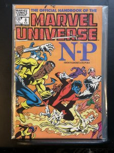 The Official Handbook of the Marvel Universe #8 (1983)