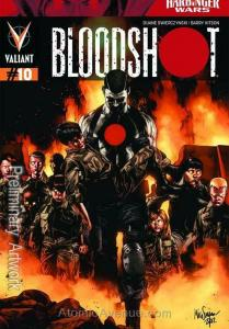 Bloodshot (3rd Series) #10 VF/NM; Valiant | save on shipping - details inside