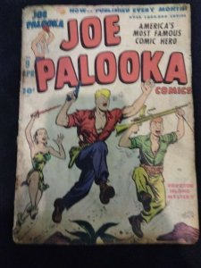 Joe Palooka #9 Harvey Comics 1947 Low Grade Copy GOLDEN AGE