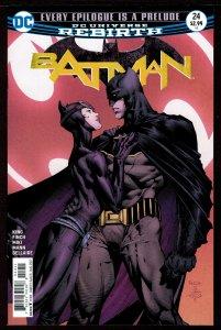 Batman #24 Rebirth (Aug 2017, DC) 0 9.4 NM
