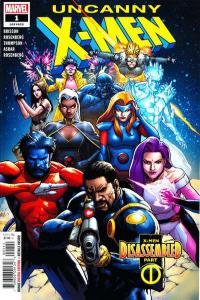 Uncanny X-Men (2019 series) #1, NM- (Stock photo)