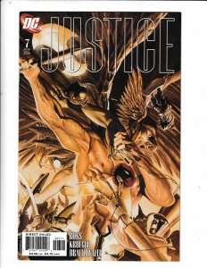 JUSTICE #7 FN/VF   NO RESERVE  Save on shipping