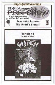SLAVE LABOR GRAPHICS PEEPSHOW V2 #16, Witch, 2001, NM+
