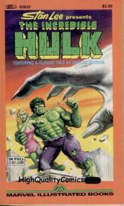 INCREDIBLE HULK Pb, 1st, Harlan Ellison, Buscema, NM, 1982,