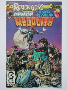 Revengers #4 (Continuity Comics 1988) Megalith Signed by Neal Adams
