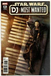 Star Wars The Last Jedi DJ  Most Wanted #1 Reis Variant (Marvel, 2018) NM