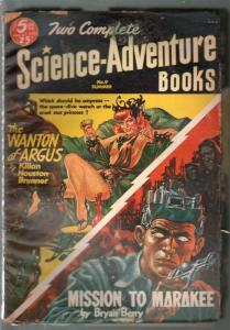Two Science-Adventure Books #9 Summer-Kelly Freas-GGA-VG+