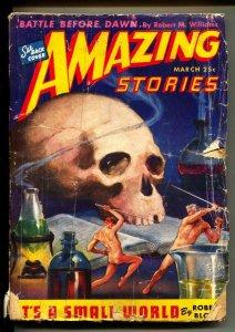 Amazing Stories-Pulps-3/1944-Don Wilcox-Robert Bloch