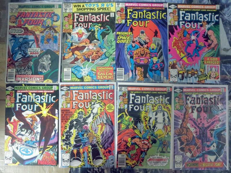 Fantastic Four 17 Issues (1978-1984) #198-268 Mixed Wein Byrne Doctor Doom