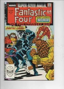 FANTASTIC FOUR #21 Annual, VF/NM, InHumans, Evolutionary War, 1961 1988, Marvel