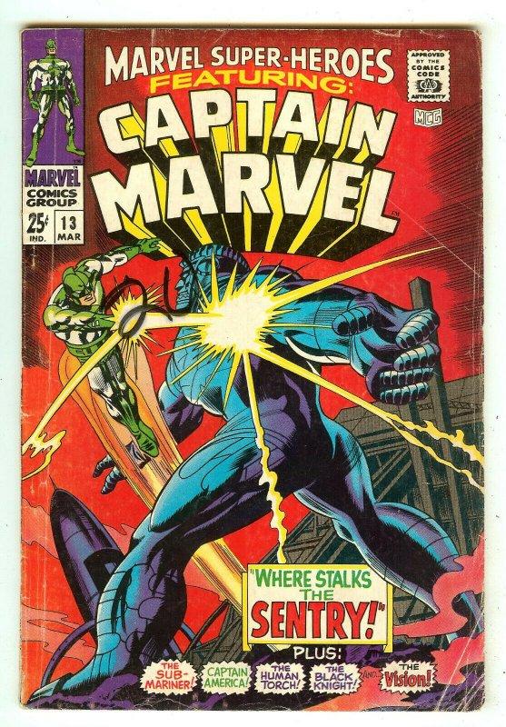 Marvel Super-Heroes 13   1st Carol Danvers