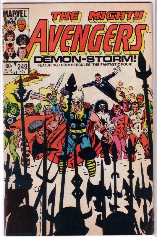 Avengers   vol. 1   #249 VG