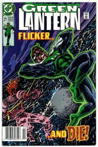 Green Lantern #21 (DC, 1992) FN