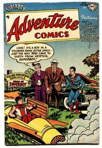 Adventure Comics #205-Superboy Green Arrow Aquaman DC golden-age