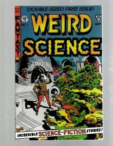 Weird Science # 1 EC Comic Book Gladstone Reprint NM Wood Cover Sci-Fi SB5