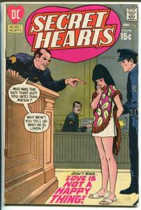 Secret Hearts #148 1970-DC-court room cover-Ric Estrada art--VG