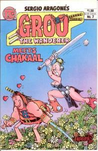 GROO THE WANDERER (PC) 7 VF-NM Feb. 1984 COMICS BOOK