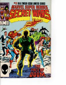 MARVEL Super Heroes Secret Wars (1984 Series) #11 MAR 1985 FN+