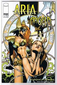 ARIA & ANGELA #1 (x3 different), NM, Good Girl, Femme Fatale, Image