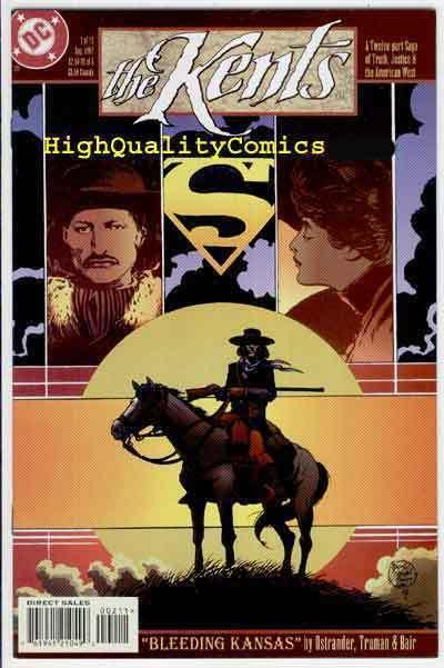 KENTS #2, NM+, Superman's Family, Kansas, Tim Truman, 1997, more in store