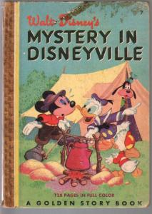 Mystery In Disneyville #7 1949-ickey Mouse-Donald Duck-Goofy-G/VG