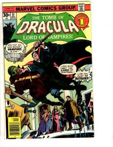Tomb Of Dracula # 51 NM Marvel Comic Book Vampire Monster Horror Fear TD7