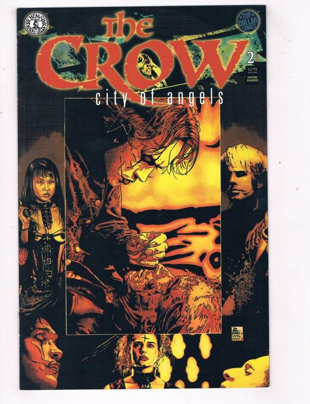 Crow City of Angels (1996) #2 Kitchen Sink Comic Book movie ...