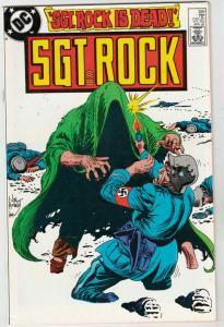 Sgt. Rock #399 (Apr-85) NM+ Super-High-Grade Sgt. Rock and Easy Company