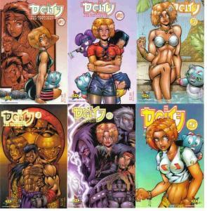 DEITY DARKNESS & LIIGHT (1998 HYPERWERKS) 1A-5A,3B COMICS BOOK