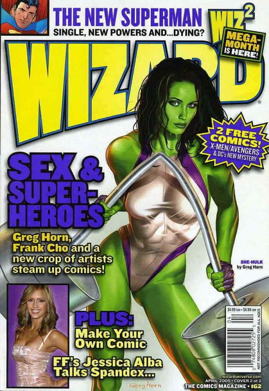 Wizard: The Comics Magazine #162B FN; Wizard | save on shipping - details inside