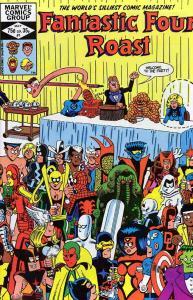 Fantastic Four Roast #1 VF/NM; Marvel   save on shipping - details inside