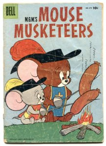 Mouse Musketeers -Four Color Comics #670 1955 G